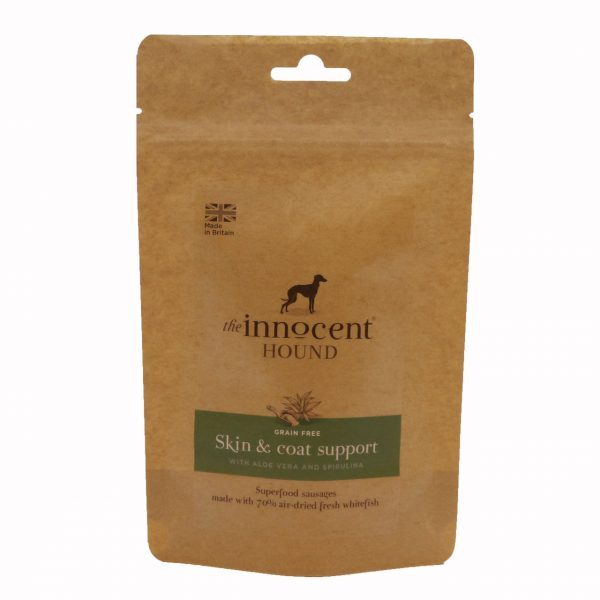 Skin & Coat Support Sausages with Aloe Vera and Spirulina